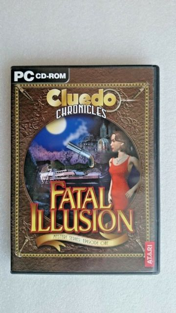Cluedo  Chronicles - Fatal Illusion  (PC Windows  2004) - Original Release